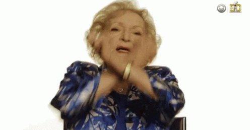 Grandma Dab GIF