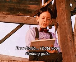 """I imagine the letter #DonaldTrump left for @JoeBiden was like something like the letter Alfalfa sent Darla, """"Dear Joe, I hate your stinking guts. You make me vomit. You're the scum between my toes. Love, Donald. His vocabulary wouldn't extend beyond that #TrumpImpeachment"""