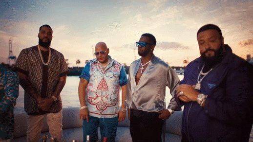 When @fatjoe, @djkhaled, & @Diddy walk onto a yacht and sample @rihanna... C️hec‍k out the 🔥 video for Sunshine feat. @loneamorphous →