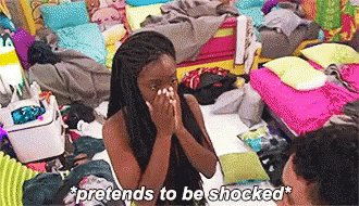 Me finding out Clare and Dale split up after five minutes of being engaged #TheBachelorette