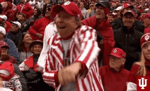 Gooooooo Hoosiers!!! Nice win at #4 Iowa!!! #iubb