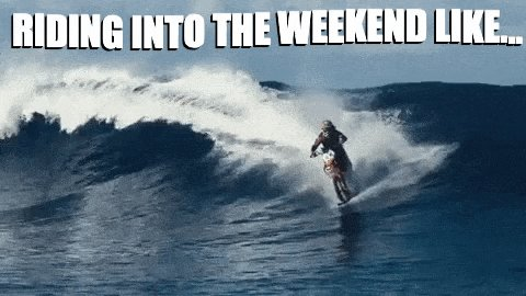 #fridaymorning Riding into the #weekendvibes #Bike #Surfing 🏍🏄♂️ #GoodVibes @CONTEMPRA_INN🌹