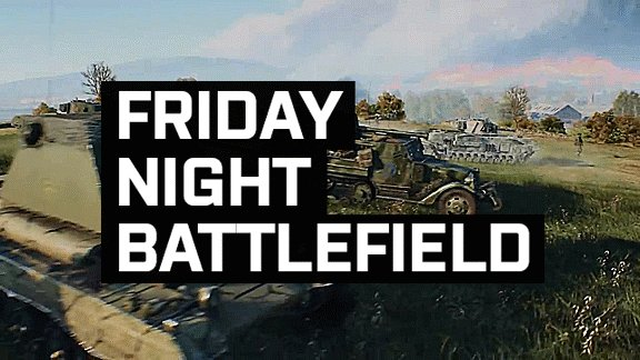 Join us tonight on #BattlefieldV for the Playstation #FridayNightBattlefield US Event!  Details will be posted around 9 PM EST with the server information.  Want to keep up with the latest #FridayNightBattlefield Information join our Discord