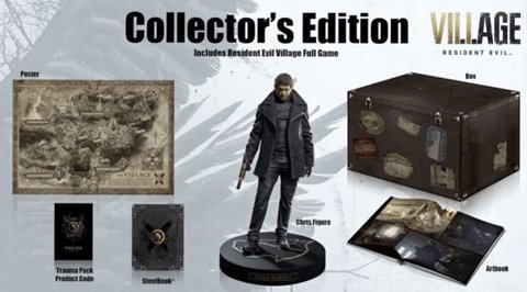 Follow CAG & Retweet for a Chance to Win the Resident Evil Village Collector's Edition (PS4/PS5). Ends Feb. 22th at 9PM ET. USA Only.