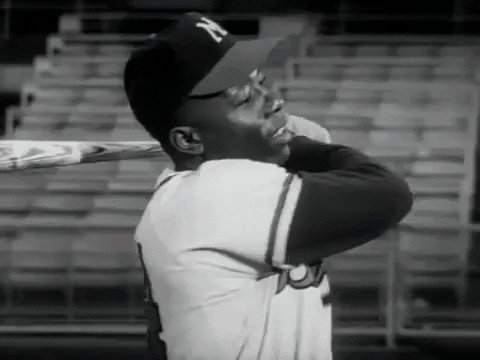 Another great one gone. Henry Aaron was a wonderful human being & the greatest power hitter of all time, & somehow the most undervalued. He & Clemente my idols. Loved him since I was a boy of 8 in Madison in 1957 when he led the Braves to the championship against the Yanks.