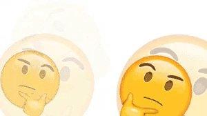 Emoji Think GIF