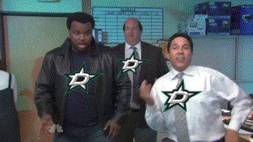 Football score tonight, in Dallas! 7-0 Stars WIN!!! #GoStars