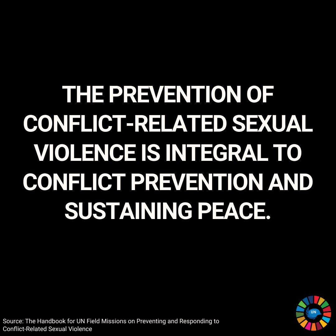 As a member of @UNAction, we stand in full support of @USGSRSGPatten's statement urging all parties to prohibit the use of sexual violence & cease hostilities in the Tigray region of Ethiopia.  @endrapeinwar #stoprapenow ✊