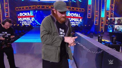 Tambien paso esto con Sami pero a nadie le importa lo que le pasa a un colorado mala leche #SmackDown