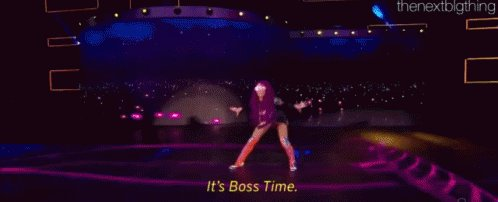 Everyone all together now, IT'S BOSS TIME!!!!!! #Smackdown