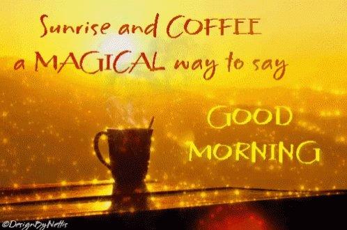 Have a magical day 💛 ☕️  #SaturdayVibes #saturday #SaturdayMotivation