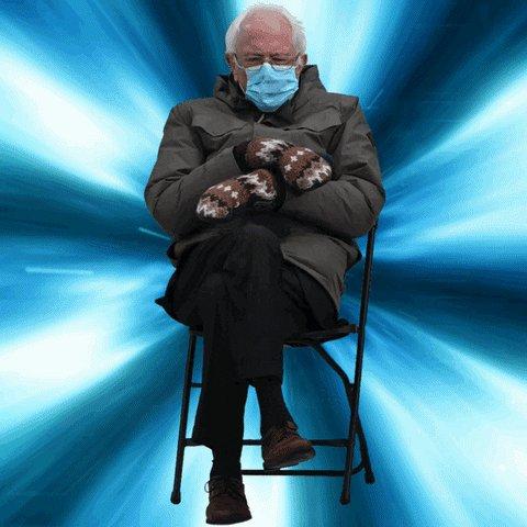 #TrumpsNoteToBidenSaid I Gave Bernie Those Mittens