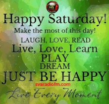#SaturdayMorning #SaturdayVibes  #SaturdayThoughts  E EVERYTHING is better on Saturday