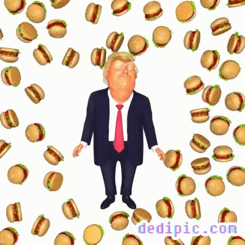 "@HangoverTags @DarthFlaves @HashtagRoundup #tRumpsNoteToBidenSaid ""As a parting gift, I leave you with a lifetime supply of #hamberders. Enjoy!"