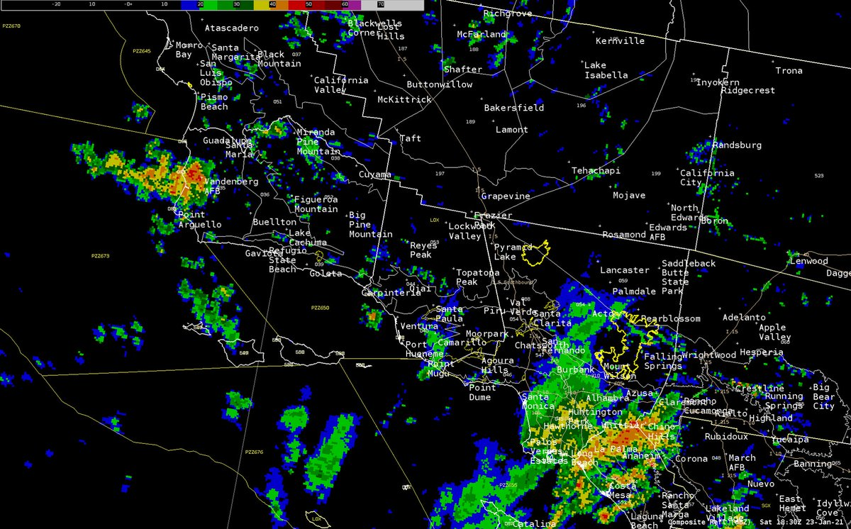 Image for the Tweet beginning: At 1110 am, scattered showers
