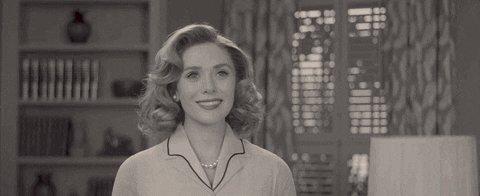 Just watched episode 3 of #WandaVision and holy cow #WandaMaximoff! #TheVision #Wanda