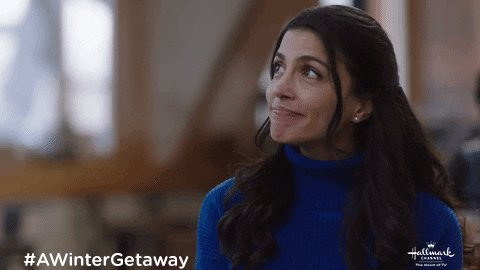 What do you think Courtney is going to pick for their next activity? #AWinterGetaway #newyearnewmovies @hallmarkchannel @w_network @BrooksDarnell