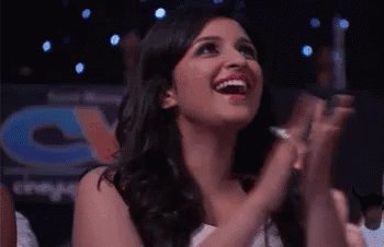 Me watching everyone being excited and talking about #TGOTT 😍 @ParineetiChopra
