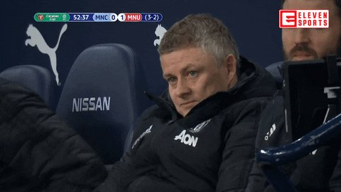 😰 Dec 9: Ole Gunnar Solskjaer sack race favourite, Man United out of the Champions League & five points behind Liverpool in Premier League.  🙌 January 24: Beat Liverpool in FA Cup, top of the Premier League and six points clear of their arch rivals.  #MUFC #GGMU