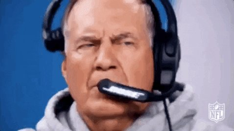 Replying to @coachchomp: I done fuuuucked up. #belichick