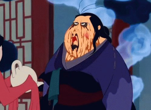 Why do my attempts at messy buns always end up making me look like the matchmaker on #Mulan?