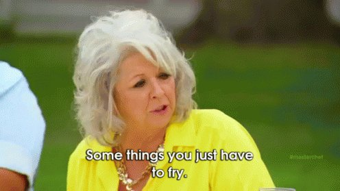 Natalie would be so triggered watching Paula Deen.  #90DayFiance