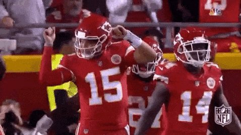 I'm case you missed the news, the KC Chiefs are going back to the Superbowl. #ChiefsKingdom #AFCChampionship