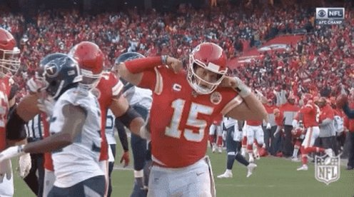 Back to back superbowl's 🙌 It's time for the new 🐐 to finish the job #SuperBowlLV #RunItBack #ChiefsKingdom
