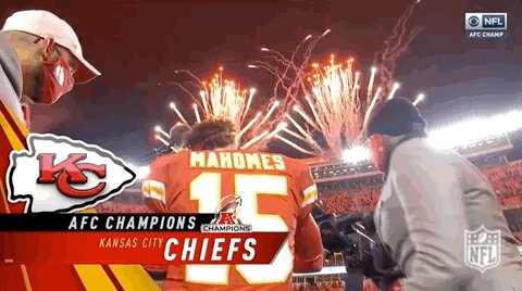 How about those #Chiefs #AFCChampionship #ChiefsKingdom #RunItBack
