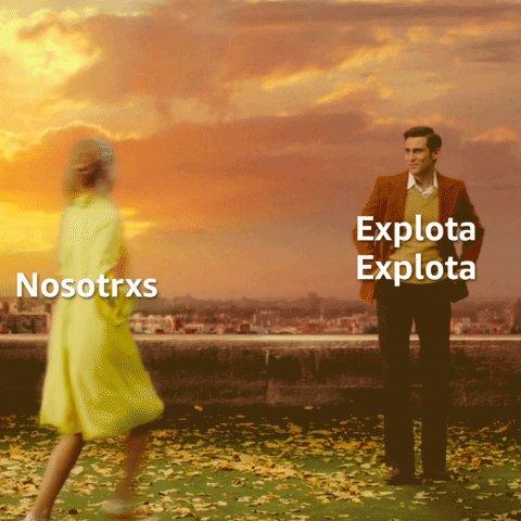 Comedia romántica    🤝   Raffaella                           'Explota Explota'  Ya disponible en Prime Video.