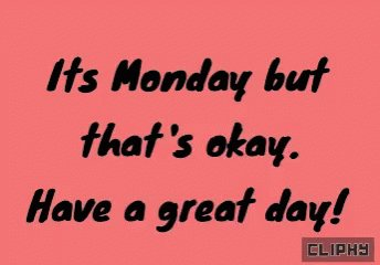 Happy Monday #WritingCommunity Reminder to have a great week ahead and always, stay productive ;)  #MondayMotivation #MondayMorning