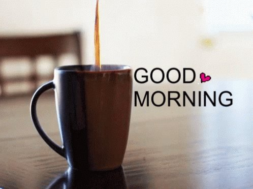 Good morning! Have a great day! #MondayMorning