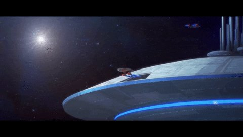Leaving Spacedock on this #Monday  for another mission! Where is the Cerritos dropping you off for work this week? #MondayMorning #MondayVibes #StarTrekLowerDecks #LowerDecks #WeAreStarfleet #StarTrekFamily