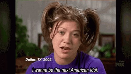 I want @kellyclarkson @KellyClarksonTV to do a week or a few days of #Kellyoke where she just does her performances from #AmericanIdol. Mostly I just want to see her do STUFF LIKE THAT THERE & DON'T PLAY THAT SONG. #KellyClarkson #KellyClarksonShow