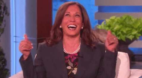 Last week we saw Kamala Harris become the FIRST woman Vice President! Thank you Kamala for showing that girls can do anything they set their mind to! 🥰 #MondayMotivation