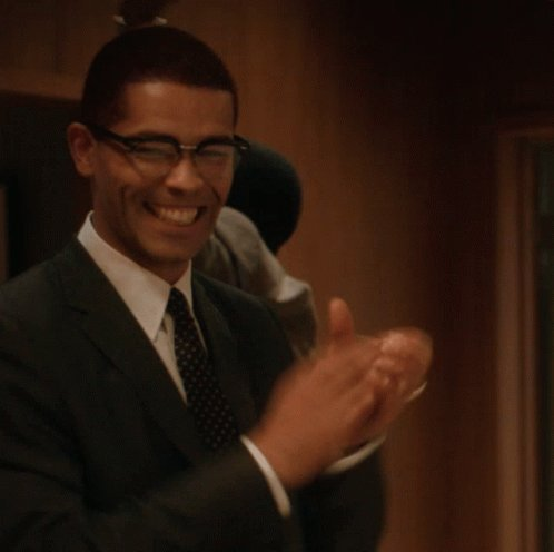 Fist Pump Malcolm X GIF