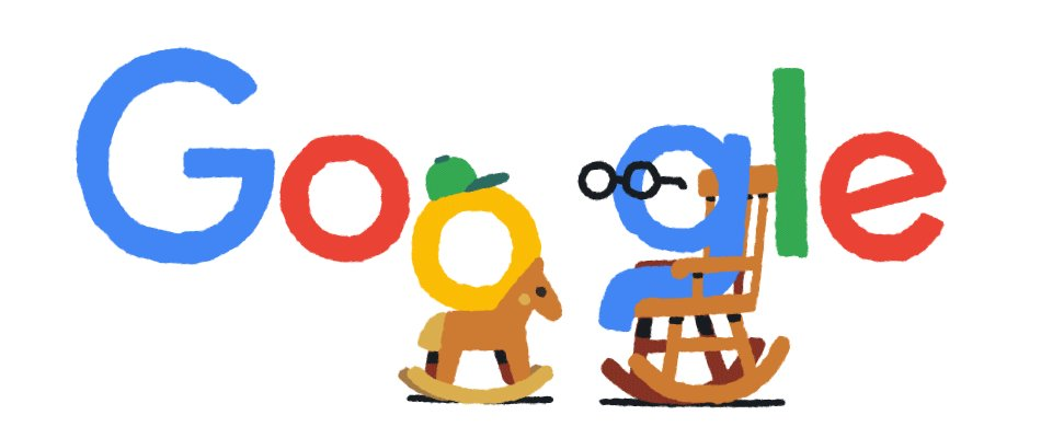 Google del dia Jan 22, 2021 Grandfather's Day 2021 (January 22) #Google #GoogleDoodle