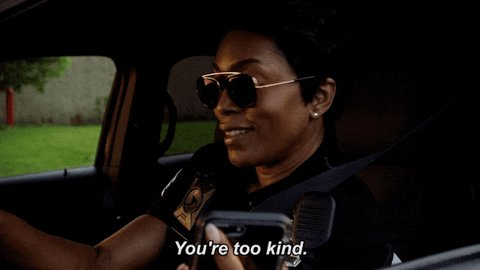 Athena is the best damn character. Angela Bassett is flawless. #911onFOX