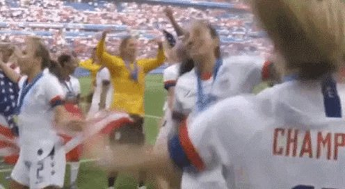 Man, I love women's soccer. These women are amazing. Watching Friday's game that I had missed. Such a good game! #USWNT #womenssoccer #athletes #sports #equalpay #USAvsColombia