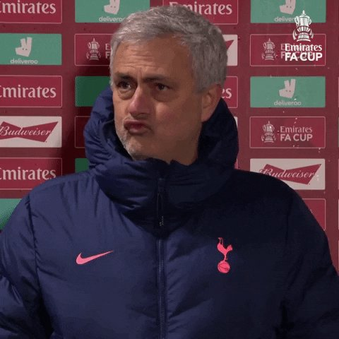 RT @EmiratesFACup: Jose Mourinho when he sees @HarryWinks 😜  #EmiratesFACup @SpursOfficial https://t.co/TrEZQFPsDh