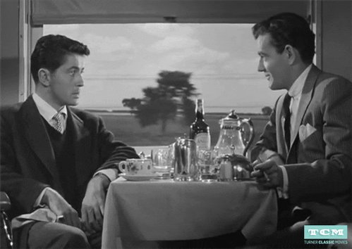 Friends not on a Train  #OppositeAMovieSweeps