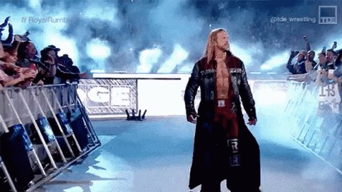 EDGE #WWERaw