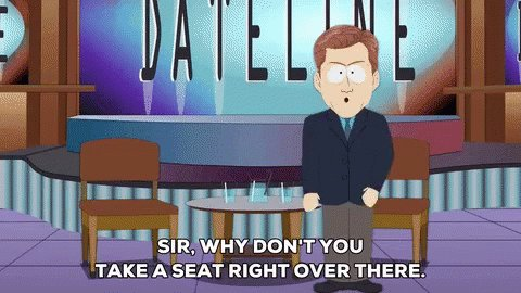 I think I preferred the south park version better  #ChrisHansenIsOverParty