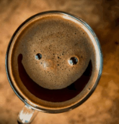 Good Morning! Today's Good Mood is Sponsored by COFFEE‼️ #CoffeeLove #Smile ☕️💖😊