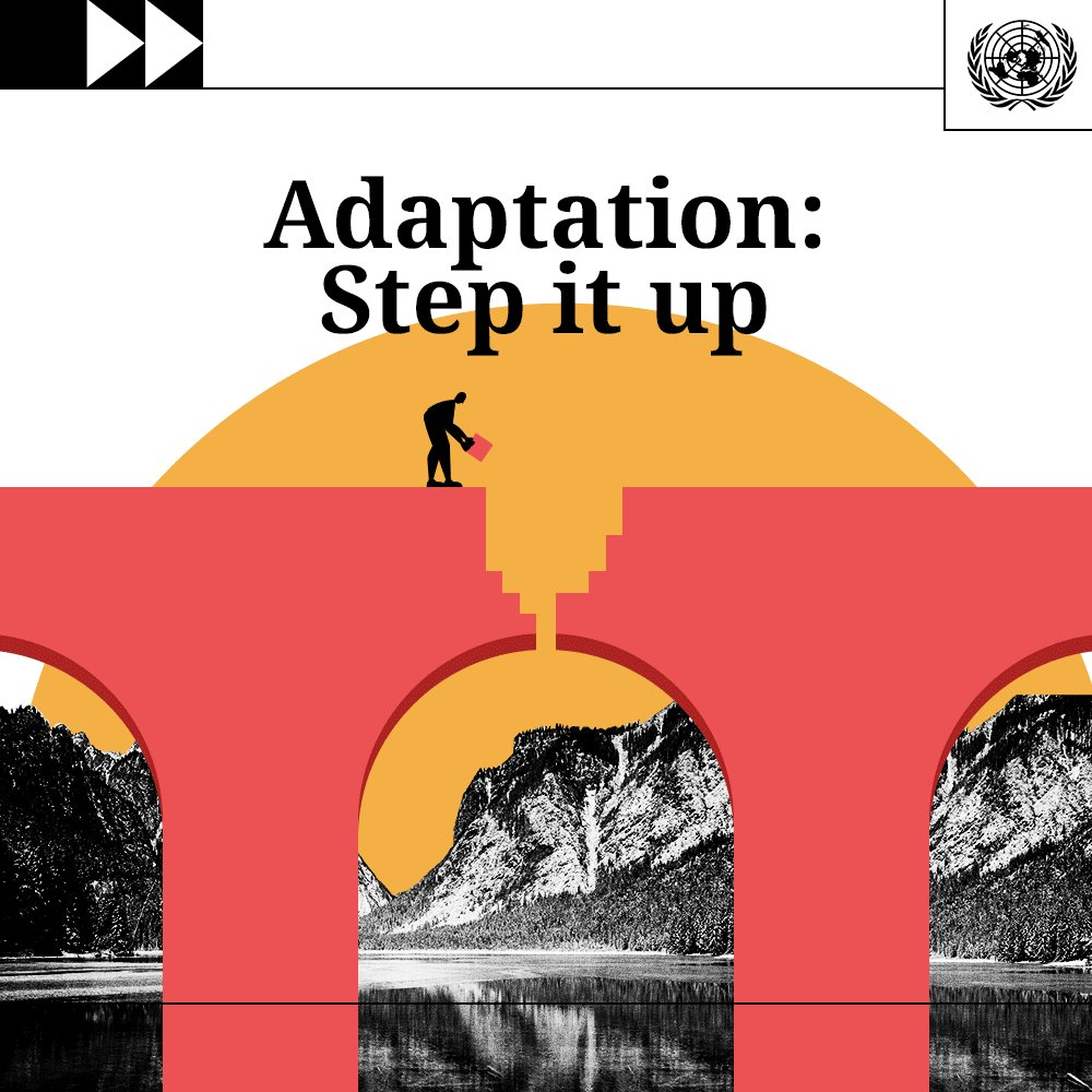 An important interview on stepping up efforts on  #ClimateAction.   #AdaptationSummit #GlobalGoals #ForPeopleForPlanet