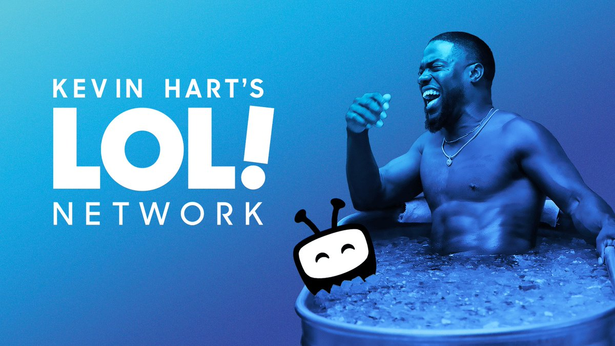 Shows so hot you'll need to cool down. Our friend @KevinHart4real's @LOLNetwork is now free on #TiVoStream4K!  🧊🧊