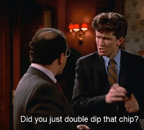 Double dipping #AlmostGotMeFired