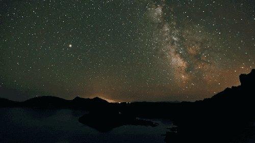 night sky GIF