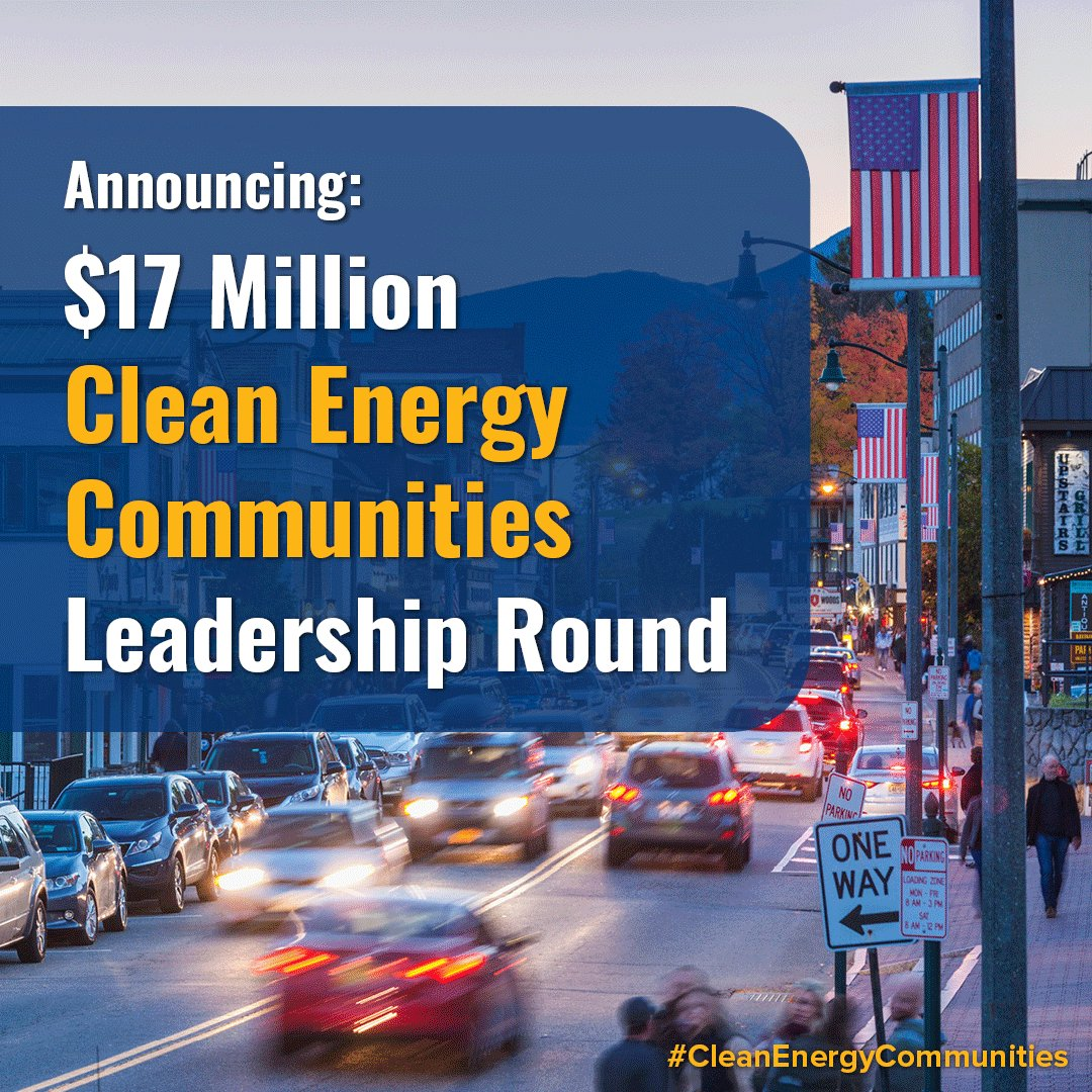 TODAY: @NYGovCuomo announced $17 million for NY's #CleanEnergyCommunities program to help local municipalities drive high-impact clean energy actions, combat #ClimateChange, and expand support for projects that ⬇ energy costs in disadvantaged communities.