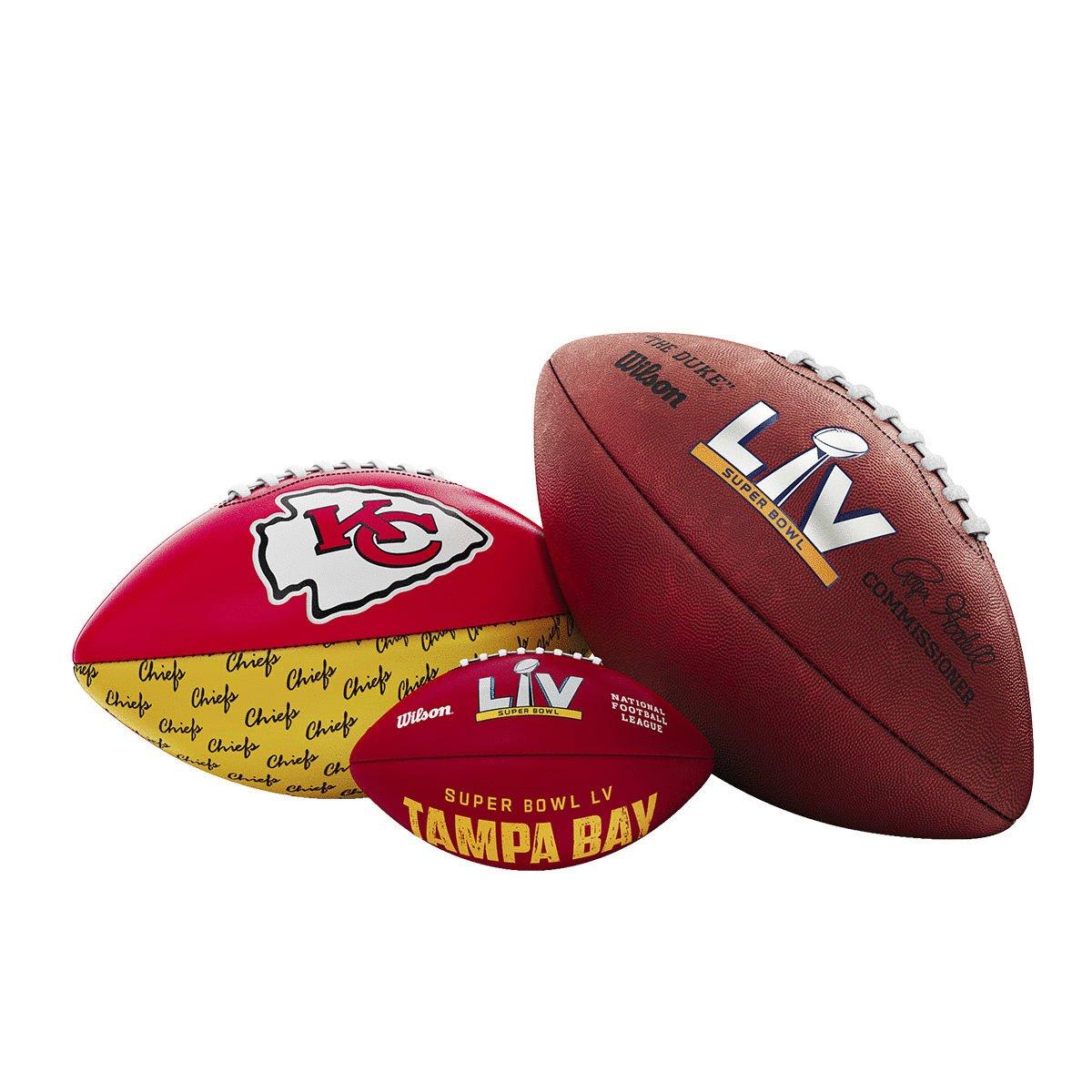 🚨 Super Bowl Bundle Drop! 🚨   Which one would you cop? 🧐 #wilsonfootball #sblv #chiefskingdom #gobucs  ➡️: